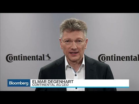 Continental AG CEO Sees Only Losers in a Trade War