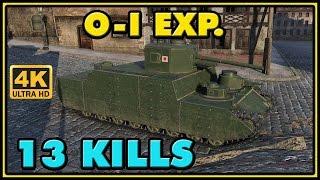 World of Tanks | O-I Experimental - 13 Kills - 3.6K Damage