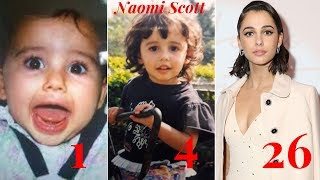 Naomi Scott Transformation From 1 To 26 Years old.