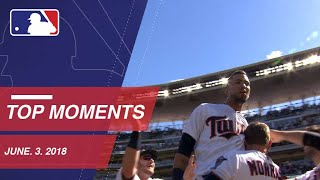 Top 10 Plays of the Day: June 3, 2018