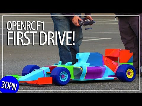 Worlds Largest OpenRC F1 - The First Drive?