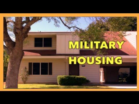 MILITARY HOUSING TOUR!