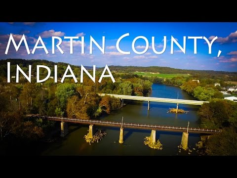 Tour Through Martin County, Indiana   Loogootee And Shoals Aerial Vlog