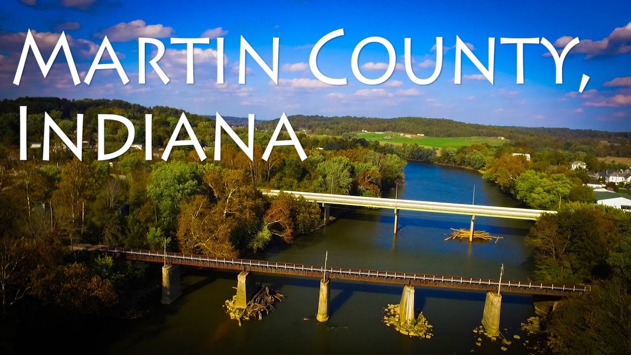 Indiana martin county shoals - Tour Through Martin County Indiana Loogootee And Shoals Aerial Vlog