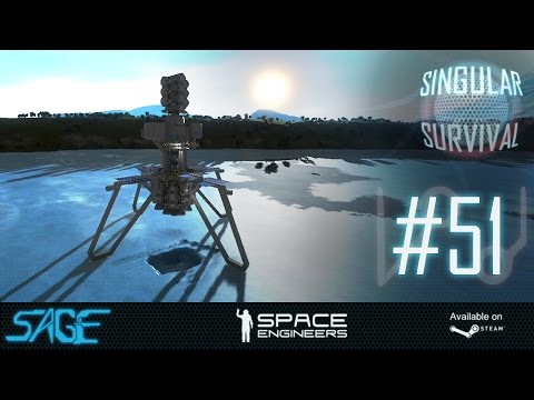 Space Engineers, Hydrogen Expansion (Singular Survival, Ep 51)