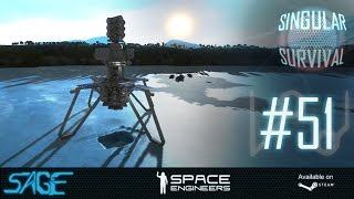 Space Engineers, Hydrogen Expansion (Singular Survival, Ep 51)