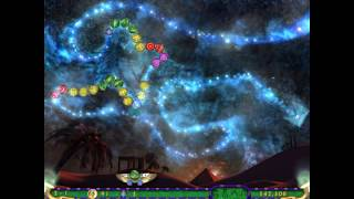 Luxor 3 gameplay for the PC