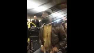 Mr. Reed inspires entire Subway to Sing