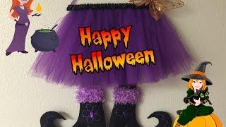 DIY: Manualidades para Halloween de Bruja estrellada.(witch)