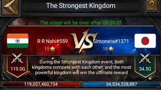Clash of Kings - KvK 559 vs 1371 👑🔥⚰️