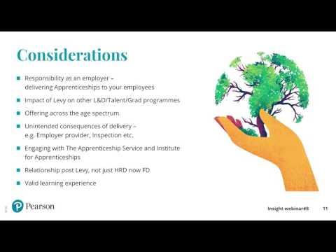Insight webinar #8 - Opportunities for employers in new apprenticeship standards