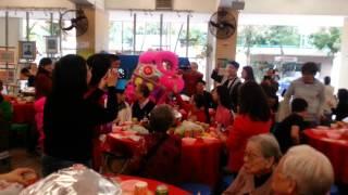 基督教祝福會於2015年2月22日到粉嶺神召會恩光堂社會服務