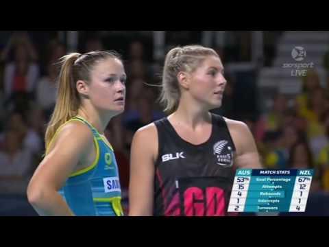Netball New Zealand-Australia  Netball Final 2016 Fast5