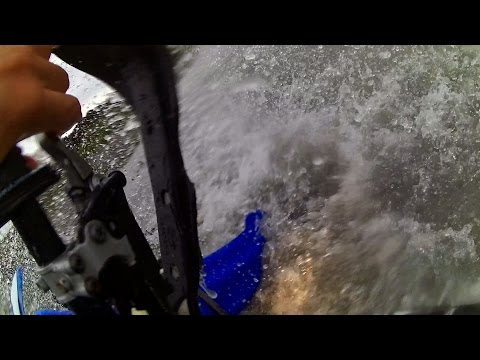 Dirt Bike River Wreck!!!