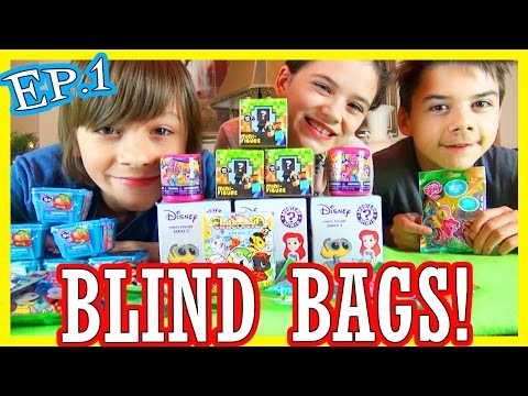 BLIND BAGS! Ep.1  | My Little Pony, Shopkins, Disney, Minecraft, Tokidoki, DC Comics |  KITTIESMAMA