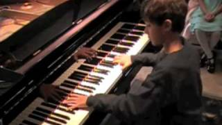 Feipe, age 9, Moment Musical by Franz Schubert