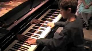 Feipe, age 9, Moment Musical by Franz Schubert