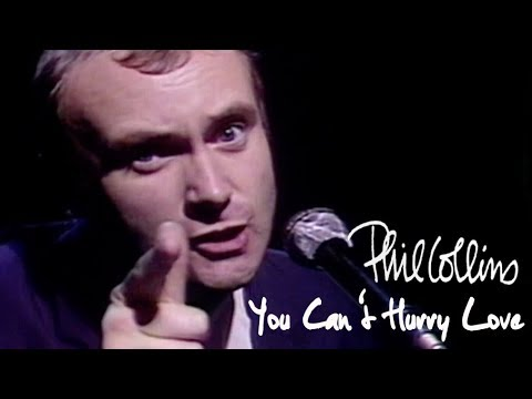 Phil Collins - You Can't Hurry Love (Official Music Video)