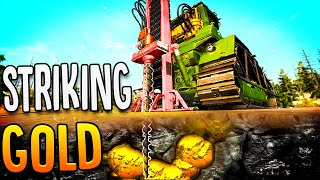 Drilling Deep To Find Gold Veins - I Found A 192 Gram Gold Nugget! - Gold Rush