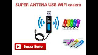 SUPER ANTENA USB WIFI CASERA