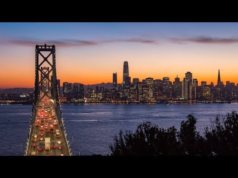 San Francisco Skyline - 4K Timelapse