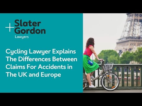 Cycling Lawyer Explains The Differences Between Claims For Accidents in The UK and Europe
