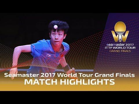 2017 World Tour Grand Finals Highlights: Dimitrij Ovtcharov vs Lin Gaoyuan (1/2)