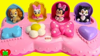 Minnie Mouse and Daisy Pop Up Pals Learn Colors and Counting with Peppa Pig