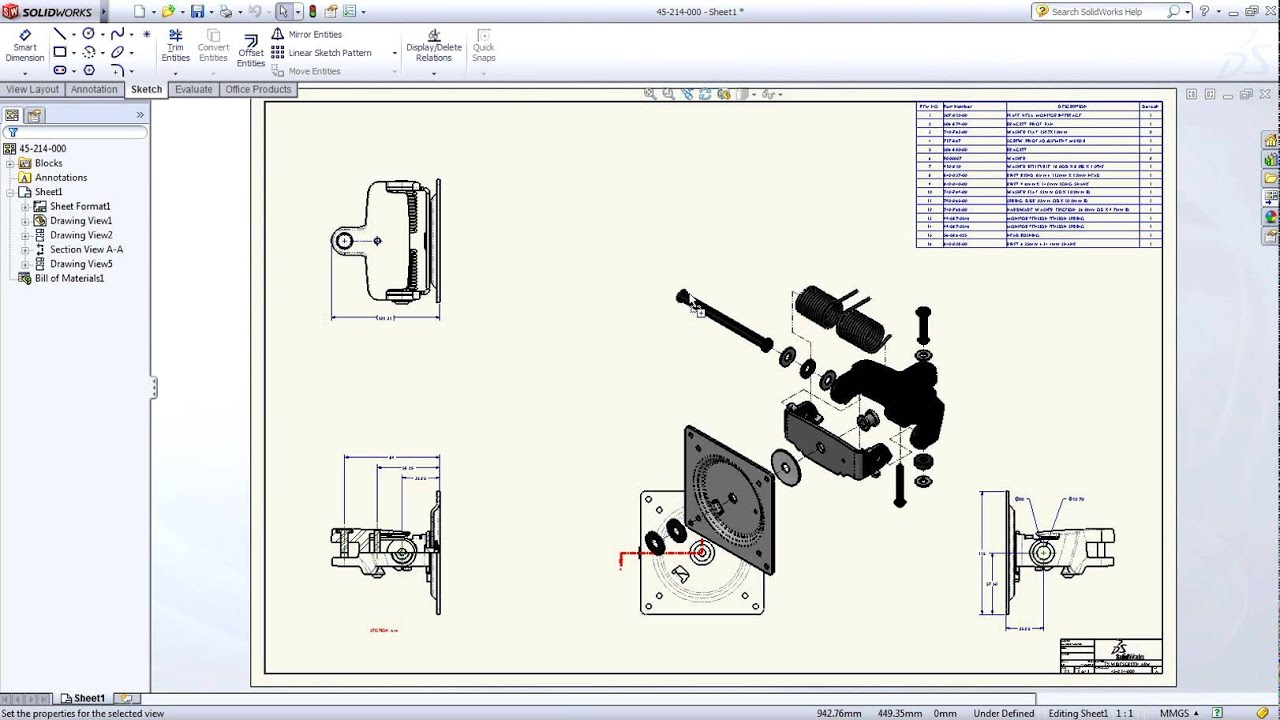 Ontdek solidworks 3d cad 2012 youtube for 3d tekenen op computer
