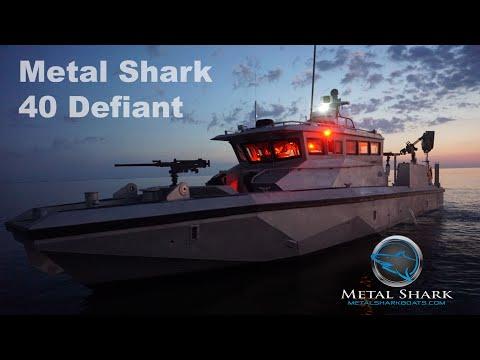 First Look: Metal Shark 40 Defiant / US Navy 40 PB