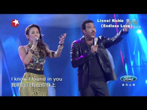 Chinese Idol Finale - Lionel Richie & 李玟CoCo Lee《Endless Love》 Travel Video