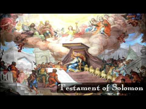 1103 Theurgy   The Testament of Solomon