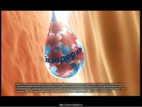 Реклама от грибка ногтей