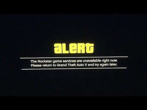 GTA V Rockstar Servers Down