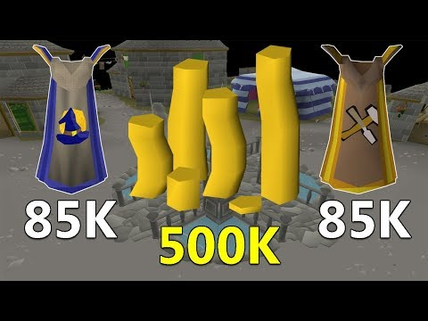 This Method Just Became SICK!! 85K Mage 85K Crafting 500K GP Per Hour!
