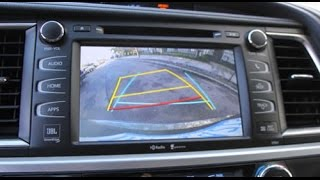 How to Remove Radio / Navigation from Toyota Highlander 2014 2015 for Repair.