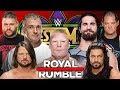 WWE Royal Rumble 2018 Entry Predictions