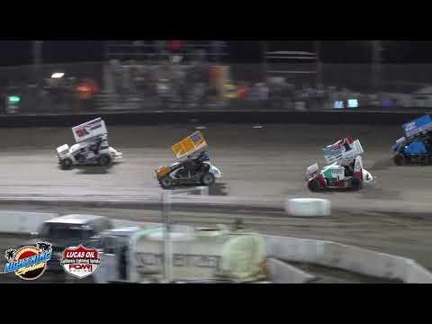 California Lightning Sprints at Bakersfield Speedway 3/16/19 Feature Highlights