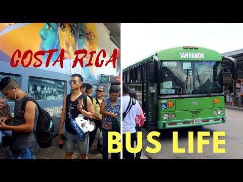 Bus Life in Costa Rica