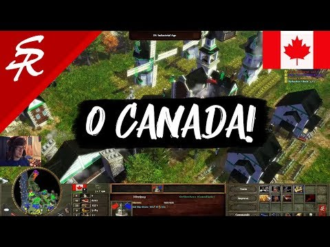 CANADA In Age Of Empires III! Wars Of Liberty