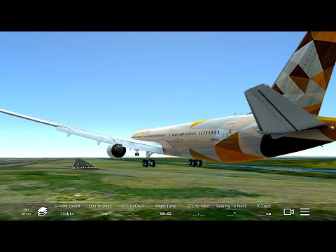 Infinite Flight Boeing 787-10.ATC.Multiplayer. WMKK-WSSS