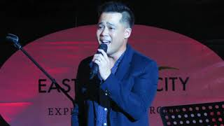 DINGDONG AVANZADO sings quot;Basta39;t Kasama Kitaquot; KeyOfXLIVEinEastwiood 1317