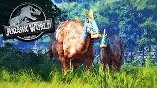 EL PARQUE SE RECUPERA!! JURASSIC WORLD EVOLUTION #8 Juego de dinosaurios thumbnail