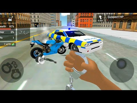 Police Car Driving: Motorbike Riding #3 | Android Gameplay FHD