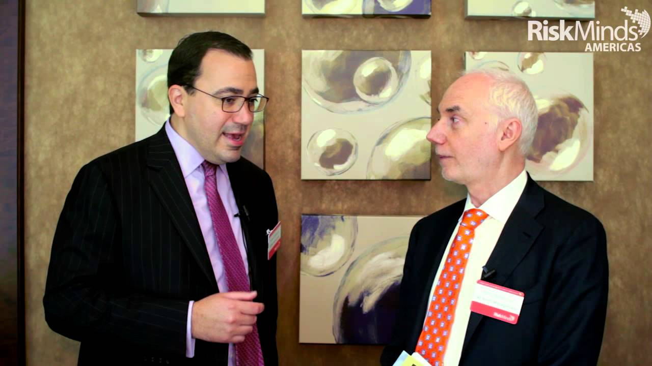 RiskMinds Americas 2015 - Interview with Barry Schachter, 40 North  Management