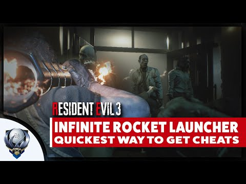 Resident Evil 3 Remake - Fastest Way To Farm Points For Infinite Rocket Launcher And All CHEATS