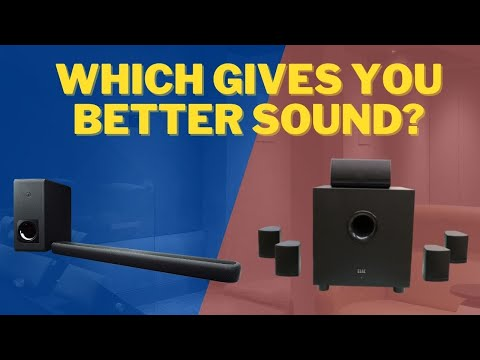 Soundbars Vs HomeTheater Speakers
