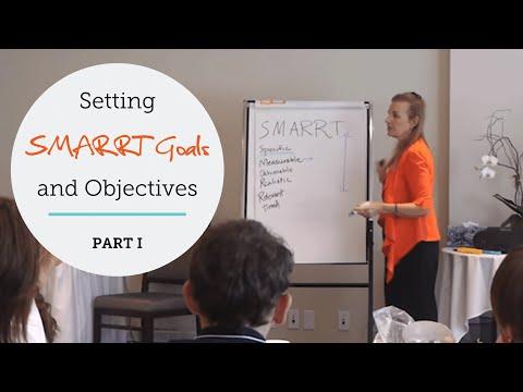 Life Coaching: Setting Coaching SMARRT (SMART) Goals & Objectives (Part 1/2)