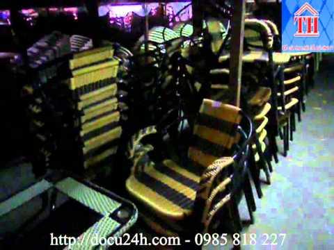 Thanh lý bàn ghế cafe giá rẻ hà nội - Liên hệ : 0985 818 227