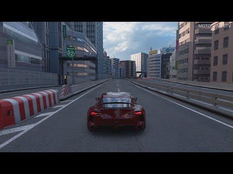 Gran Turismo Sport - Toyota FT-1 Gameplay [PS4 Pro]